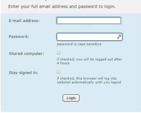 chi webmail