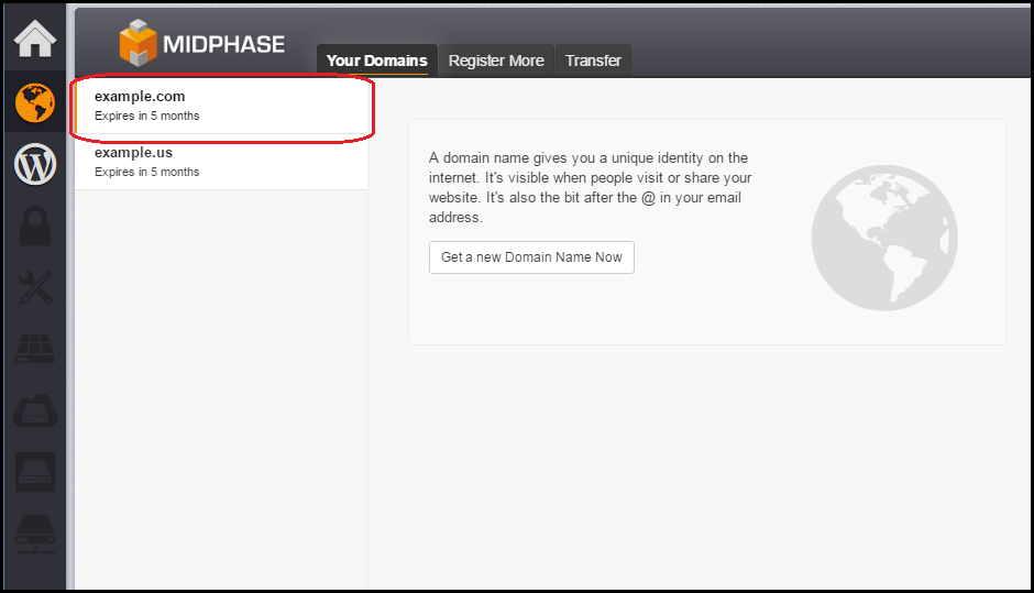 How To Manage DNS - Midphase - Midphase Knowledgebase